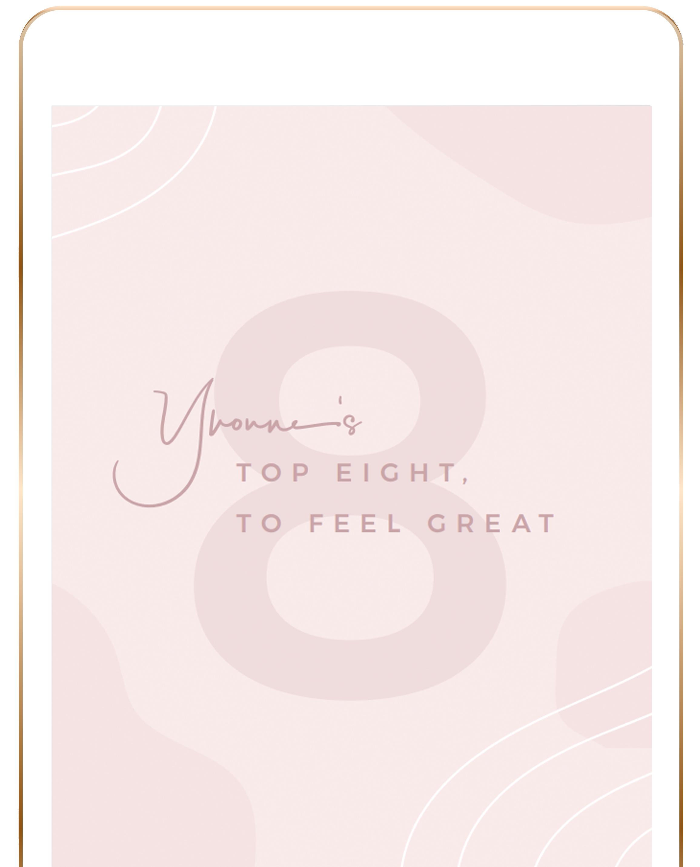 Top 8, to feel great Mini-eBook